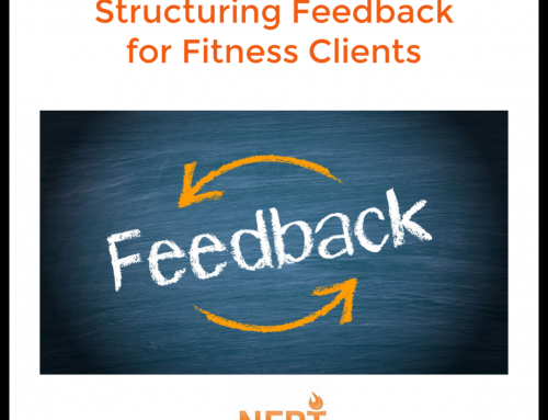 Structuring Feedback for Fitness Clients