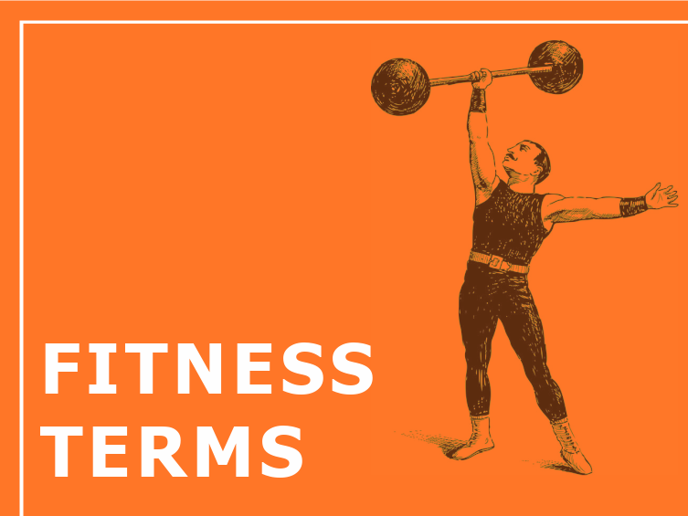 Fitness Terms2