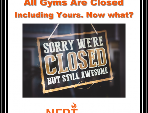All Gyms Are Closed Including Yours. Now What?