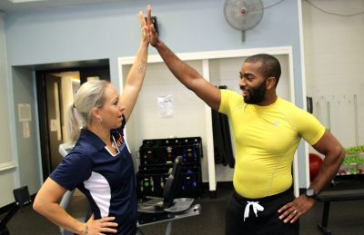 high five personal fitness trainer