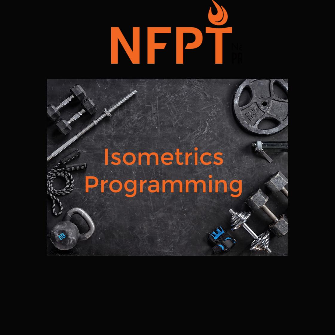 Isometrics Programming