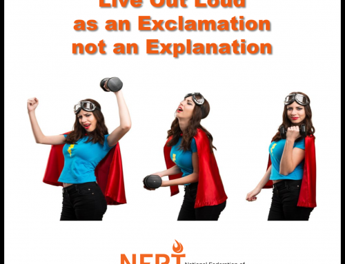 Live Out Loud As An Exclamation, Not An Explanation