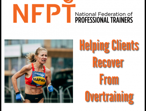 Helping Athletes Recover From Overtraining Syndrome