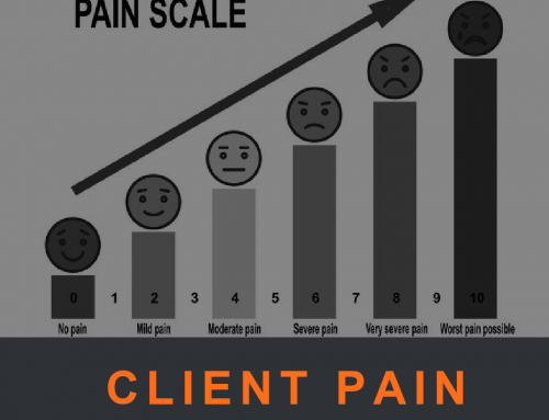 Client Pain: More than a Sensation!