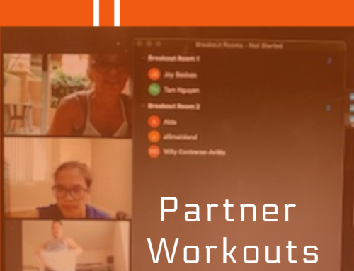 Partner Workouts in the Virtual (or Social Distancing) World