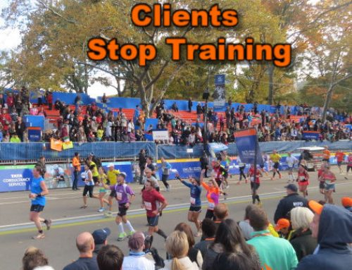Top Four Reasons Clients Stop Training