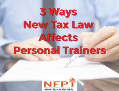 3 Ways the New Tax Law Affects Personal Trainers