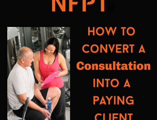 How to Convert a New Member Consultation to a Paying Client