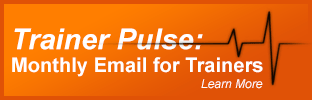 Sign up for Trainer Pulse Newsletter