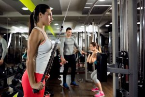 Fitness Woman Workout Strength Training