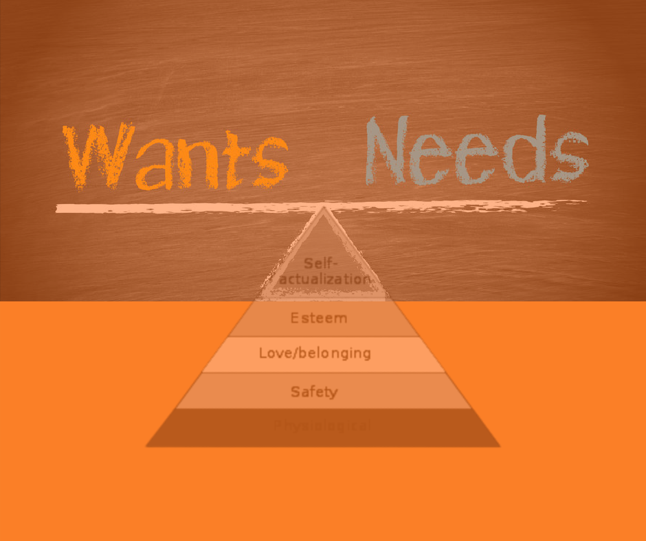 Wants And Needs Featured